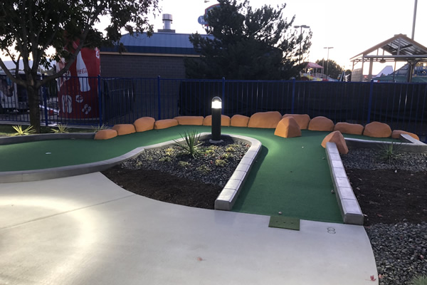 Remodel of mini golf course