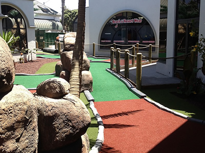 Tiki Town Mini Golf