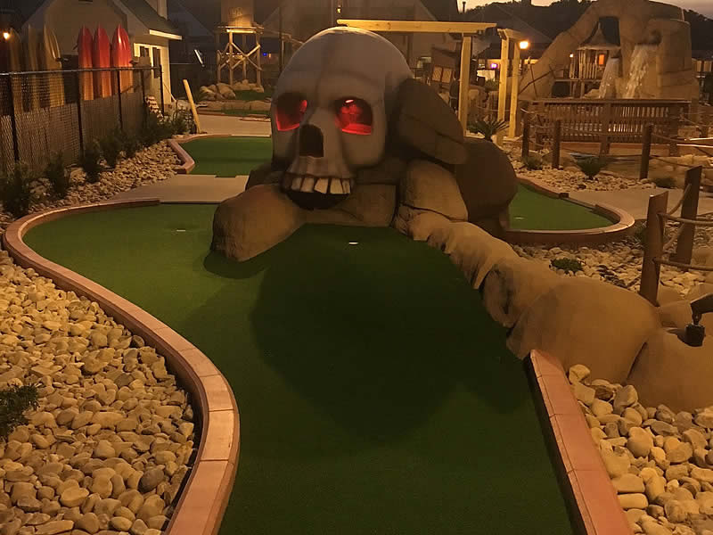 Corolla mini golf