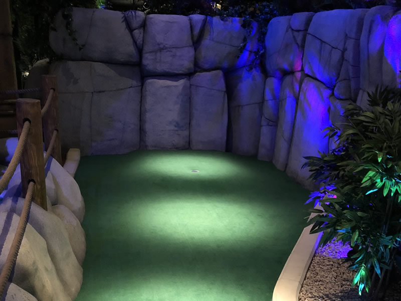 Belfast miniature golf course
