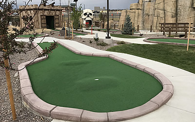 Indoor And Adventure Mini Golf Course Styles Castle Golf