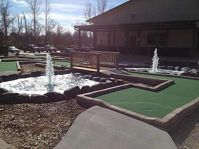 remodel of arena golf center
