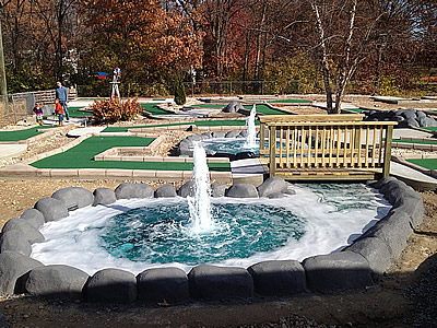 Cape Giradrdeau mini golf renovation