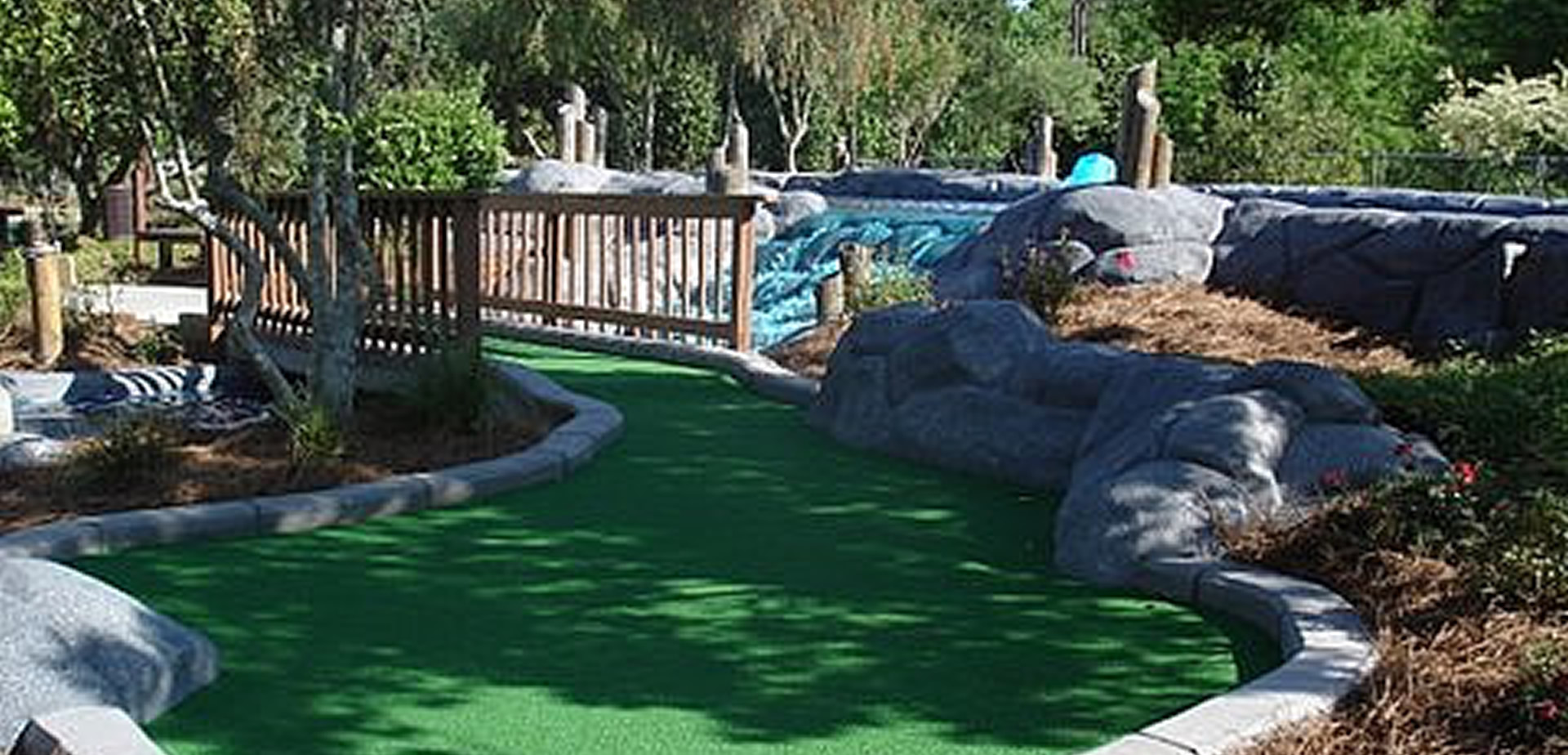 frankies fun park mini golf remodel
